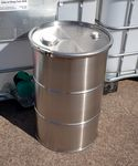 60 Litre New Stainless Steel Clamp Top Drum